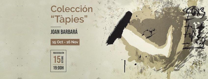 """Exposición """"Tàpies"""" de Joan Barbará en el Centro Cultural de España de Santo Domingo"""