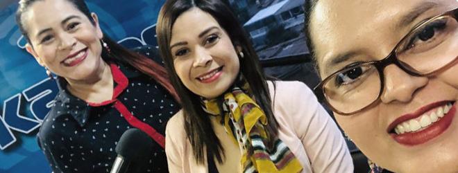 Entrevista a la directora de FUNIBER Honduras en Radio Kairos