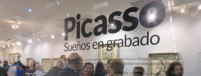 Exitosa exposición de Picasso en el Centro Cultural de España en Panamá