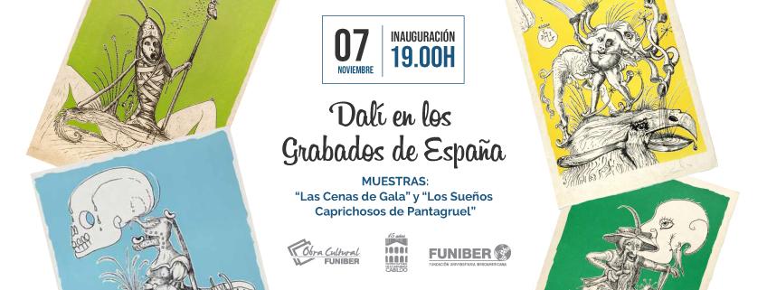"""FUNIBER organiza exposición """"Las Cenas de Gala"""" y """"Los Sueños Caprichosos de Pantagruel"""" de Dalí en Paraguay"""