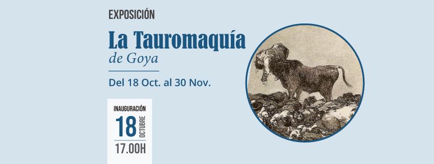 "La Biblioteca Virgilio Barco de Bogotá acoge ""La Tauromaquia"" de Goya"