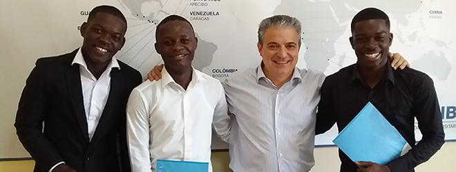 FUNIBER beca a los primeros angoleños para cursar licenciaturas
