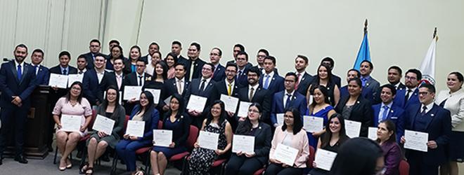 FUNIBER presenta su programa de becas en el Colegio de Ingenieros Químicos de Guatemala