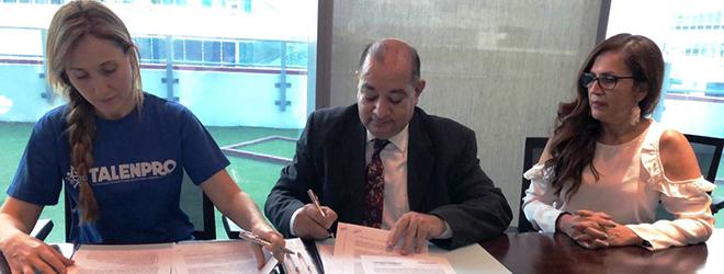 FUNIBER y la Fundación Puertas Abiertas firman acuerdo de colaboración