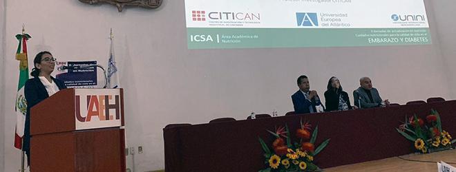 La Dra. Marina Rojo imparte conferencia en México sobre nutrición y embarazo