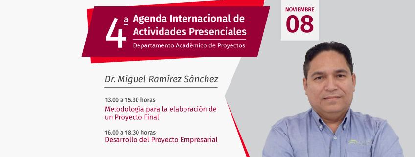 El Departamento académico de Proyectos (DAP)de FUNIBER impartirá en México talleres sobre metodología de proyectos