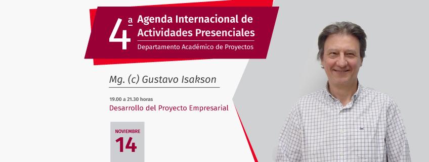 El Departamento académico de Proyectos (DAP)de FUNIBER impartirá en Perú un taller sobre el desarrollo del proyecto empresarial
