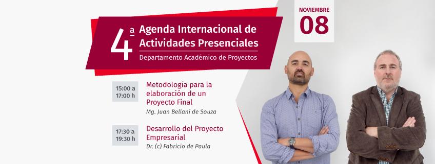FUNIBER organiza en Uruguay talleres sobre metodología de proyectos