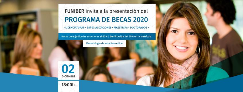 FUNIBER presenta su programa de becas 2020 en la Universidad de Buenos Aires