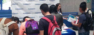 funiber-presenta-su-programa-de-becas-en-la-feria-de-universidades-de-la-unah
