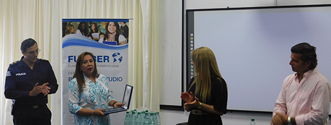 FUNIBER recibe reconocimiento por su labor con la Dirección Nacional de Educación Policial de Uruguay