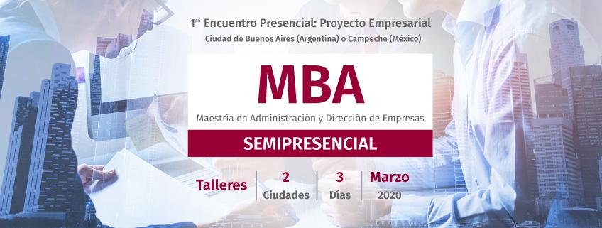 Convocado el primer encuentro sobre el proyecto empresarial del MBA semipresencial