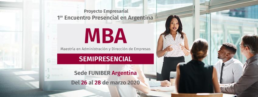 FUNIBER organiza en Argentina el primer Encuentro Presencial del MBA Semipresencial