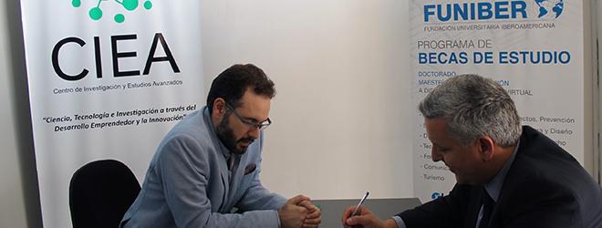 FUNIBER firma convenio con el Centro de Investigación y Estudios Avanzados (CIEA) de Paraguay