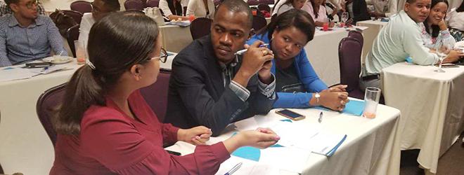Gran éxito de participación en los talleres de República Dominicana sobre el Proyecto empresarial