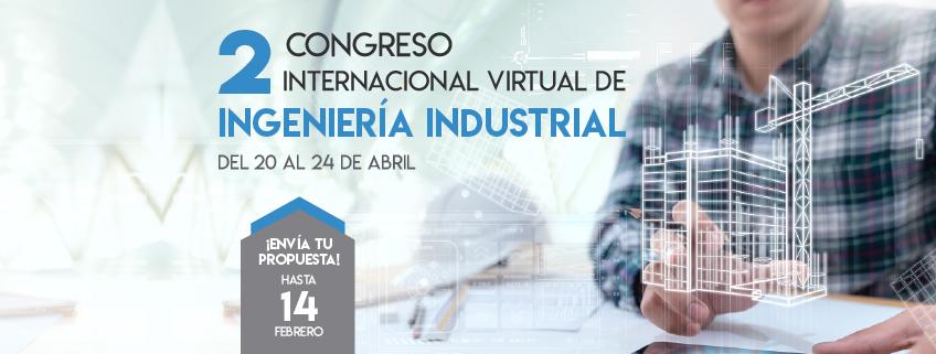 FUNIBER patrocina el Segundo Congreso Internacional Virtual de Ingeniería Industrial (CIVII 2020)