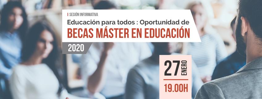 FUNIBER lanza convocatoria de becas 2020 en Guayaquil para programas del área de Formación del Profesorado