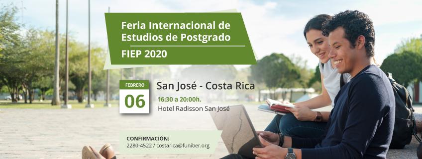 FUNIBER estará en la FIEP 2020 de Costa Rica