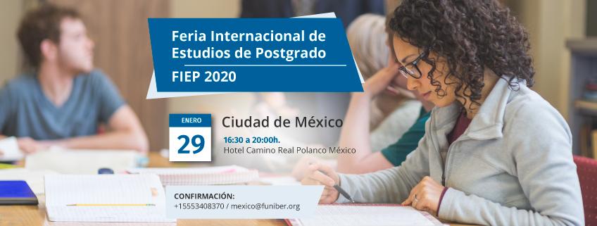 FUNIBER presentará su programa de becas en la FIEP 2020 de Ciudad de México