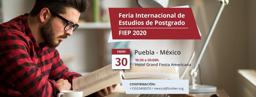 FUNIBER estará en la FIEP 2020 de Puebla para dar a conocer su programa de becas
