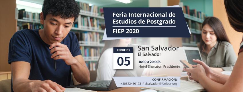 FUNIBER presentará su programa de becas en la FIEP 2020 de San Salvador