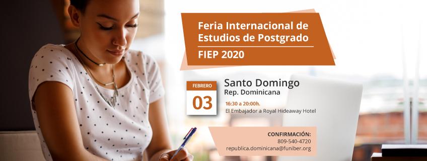 FUNIBER estará presente en la FIEP 2020 de Santo Domingo