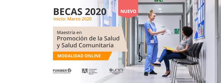 FUNIBER convoca becas para la nueva Maestría en Promoción de la Salud y Salud Comunitaria