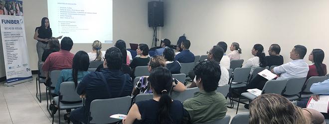 FUNIBER ofrece sesión informativa en Ecuador sobre su programa de becas