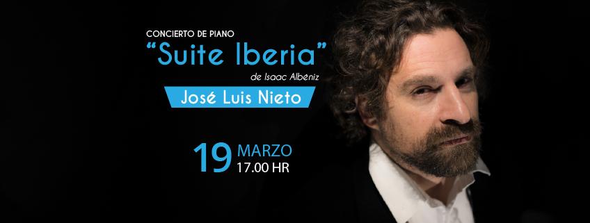 FUNIBER organiza concierto del pianista José Luis Nieto en Puebla