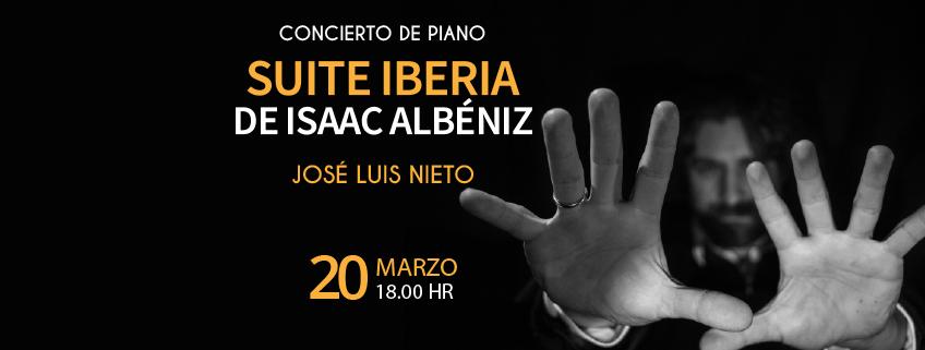 FUNIBER organiza concierto de José Luis Nieto en el Benemérito Conservatorio de Música de Puebla