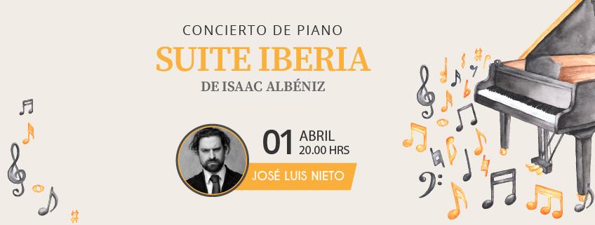 El pianista José Luis Nieto ofrecerá concierto en el Teatro Nacional Eduardo Brito de Santo Domingo