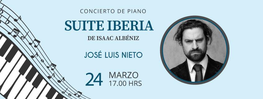 FUNIBER organiza concierto del pianista José Luis Nieto en Mérida