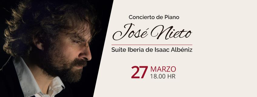 FUNIBER organiza concierto de José Luis Nieto en Ciudad de México