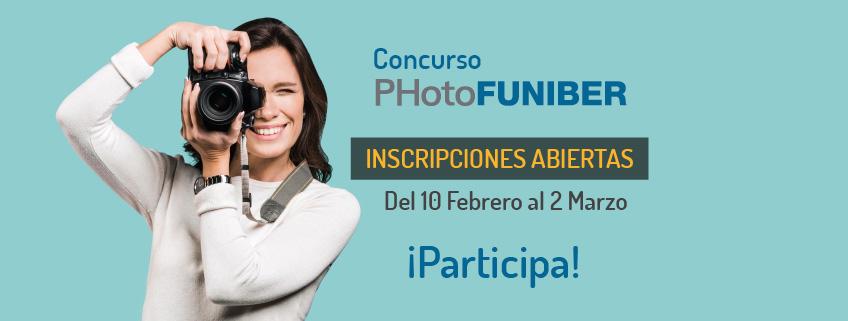 FUNIBER organiza el 2º Concurso Internacional de Fotografía, PHotoFUNIBER'20