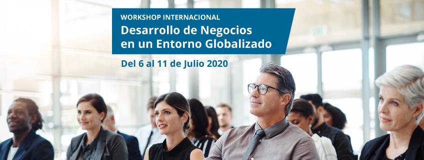 """FUNIBER y UNEATLANTICO convocan el Workshop Internacional """"Desarrollo de Negocios en un Entorno Globalizado"""""""