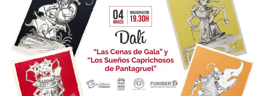 Exposición de Dalí en el Centro Cultural de la República Cabildo en Asunción