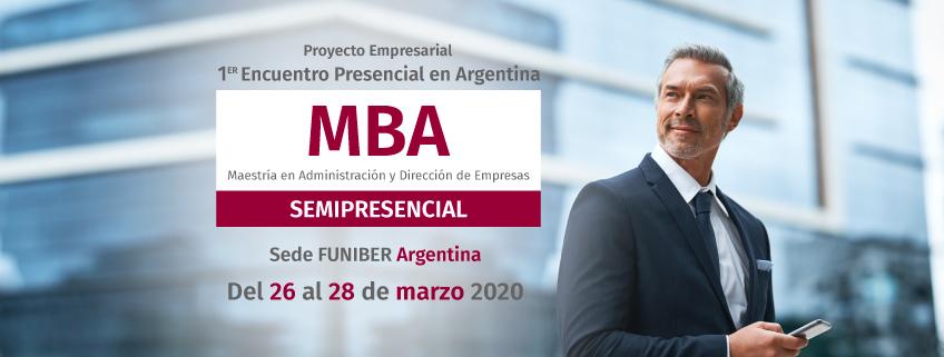Primer encuentro académico sobre el Proyecto Empresarial del MBA Semipresencial
