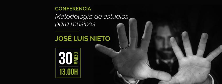 José Luis Nieto finaliza su gira por México con una Conferencia en la Facultad de Música de UNAM