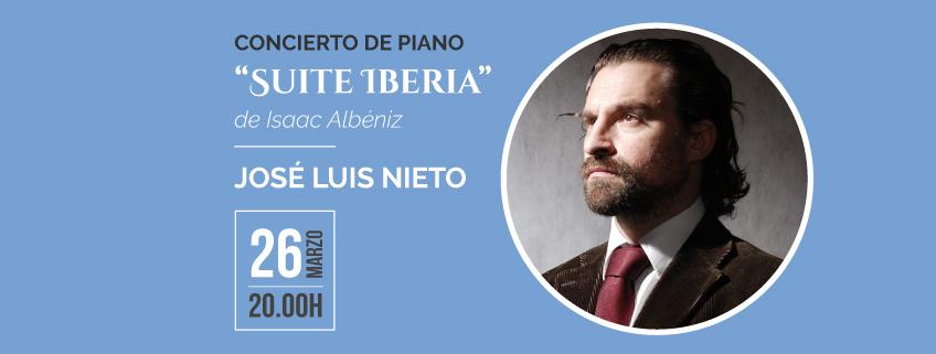 El pianista José Luis Nieto ofrecerá concierto en el Centro Nacional de Artes CENART