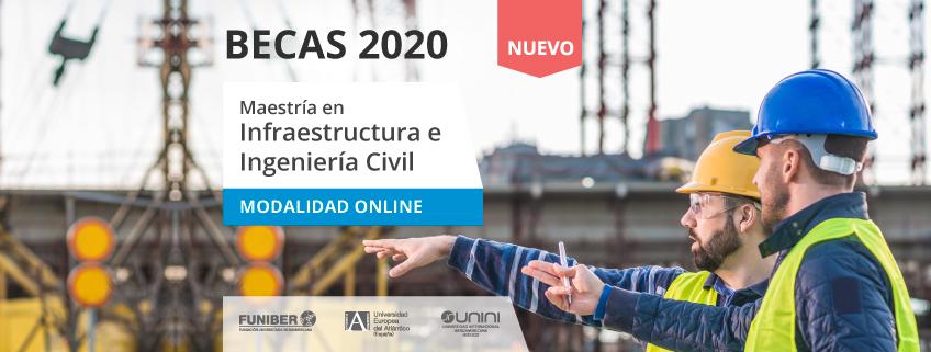 FUNIBER ofrece becas para cursar la nueva Maestría en Infraestructura e Ingeniería Civil
