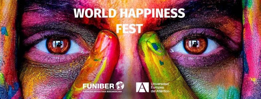 FUNIBER participa en el World Happiness Fest, el evento online sobre felicidad y bienestar