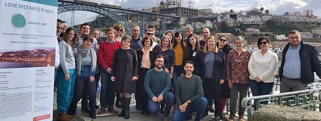 FUNIBER participa en el encuentro para establecer las acciones a desarrollar en el proyecto LOVEDISTANCE