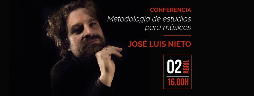 Conferencia de José Luis Nieto en el Conservatorio de Música de Santo Domingo