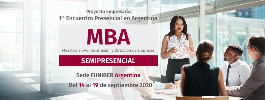 Reprogramación del 1º encuentro presencial de la Maestría en Administración y Dirección de Empresas (MBA) Modalidad Semipresencial