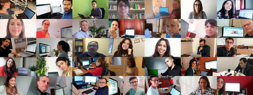 Docentes de la red universitaria de FUNIBER dan seguimiento a los estudiantes mediante el teletrabajo