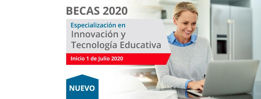FUNIBER convoca becas para la nueva Especialización en Innovación y tecnología educativa