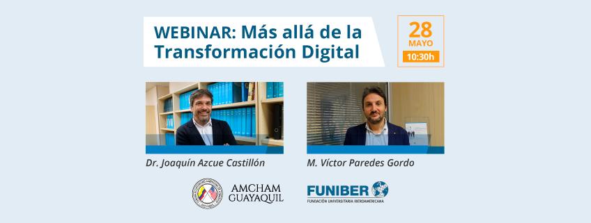 Webinar sobre Transformación Digital organizado por FUNIBER