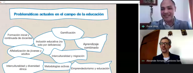 FUNIBER organiza taller virtual en El Salvador sobre los programas de Doctorado