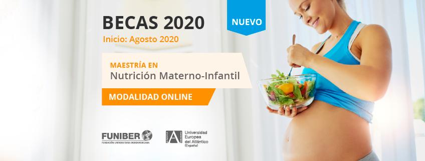 FUNIBER lanza convocatoria de becas para la nueva Maestría en Nutrición Materno-Infantil