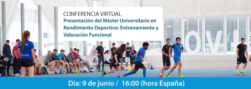 FUNIBER presenta su programa de becas para el Máster Universitario en Rendimiento Deportivo